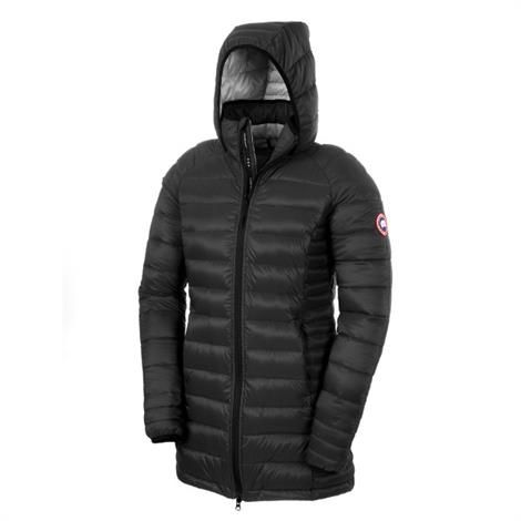 Image of   Canada Goose Ladies Brookvale Hooded Coat, Black